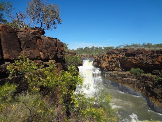 Les cascades Mitchell Falls 210