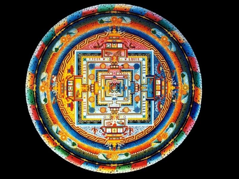 photos de mandalas tibétains, un instant d'émerveillement av 2124
