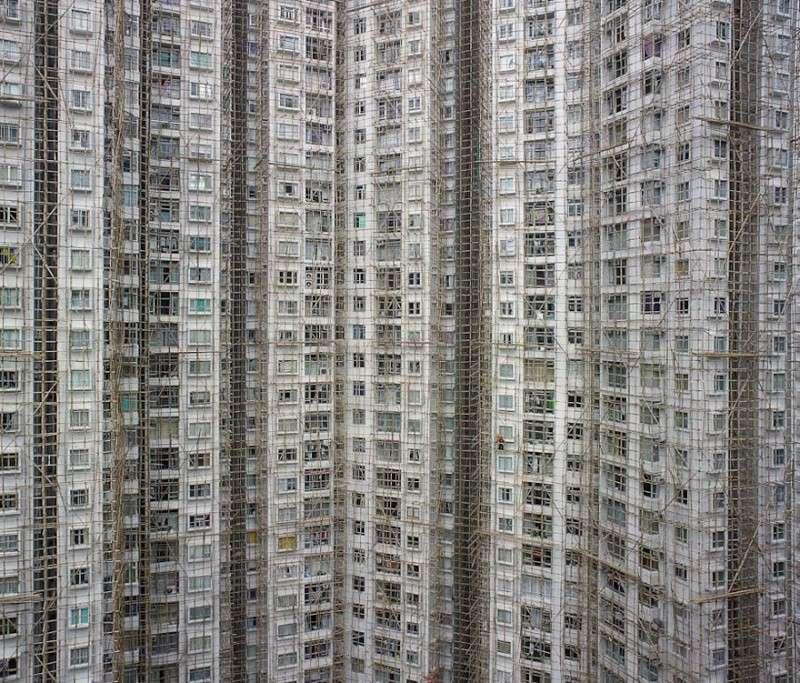 Il photographie la densité architecturale de Hong Kong, un p 2129