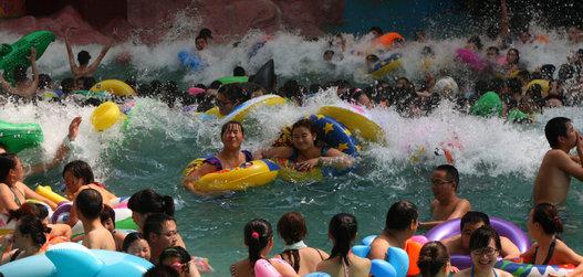 Voici le parc aquatique le plus fréquenté du monde, en Chine 2136