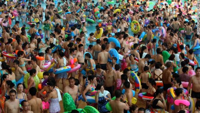 Voici le parc aquatique le plus fréquenté du monde, en Chine 2137