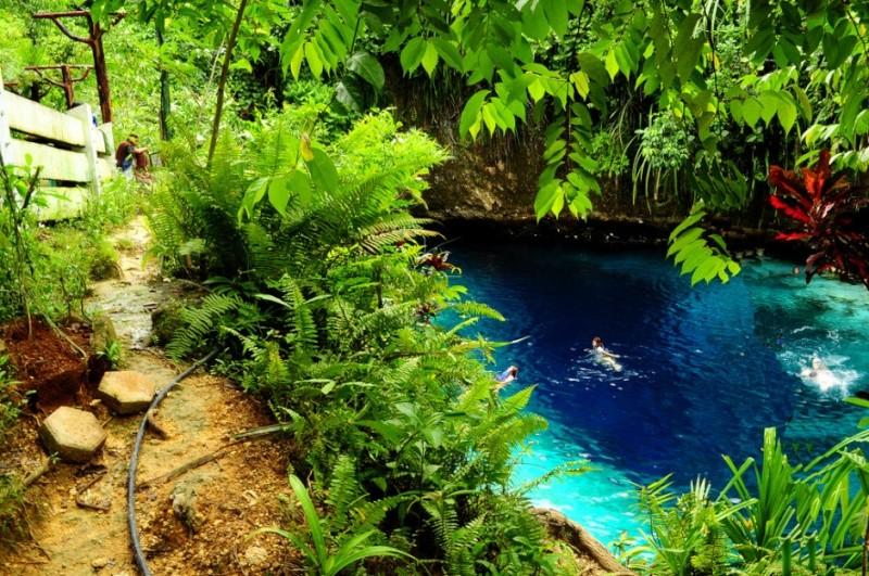 The Hinatuan River, une rivière enchantée aux Philippines 271