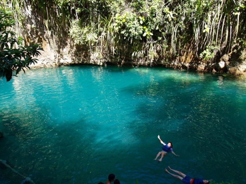 The Hinatuan River, une rivière enchantée aux Philippines 272