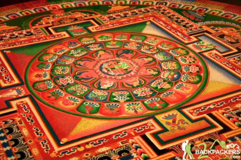 photos de mandalas tibétains, un instant d'émerveillement av 388