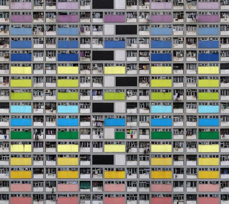 Il photographie la densité architecturale de Hong Kong, un p 390