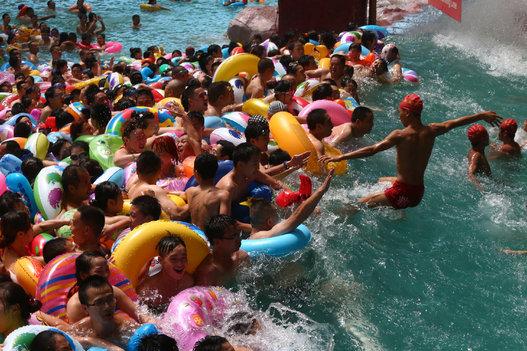 Voici le parc aquatique le plus fréquenté du monde, en Chine 395