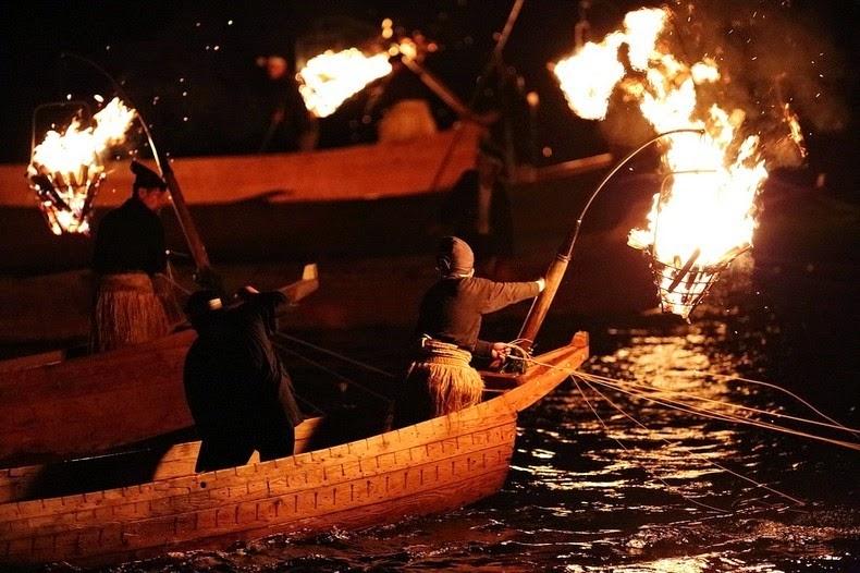 Le Ukai, l'art ancestral japonais de la pêche au cormoran 434