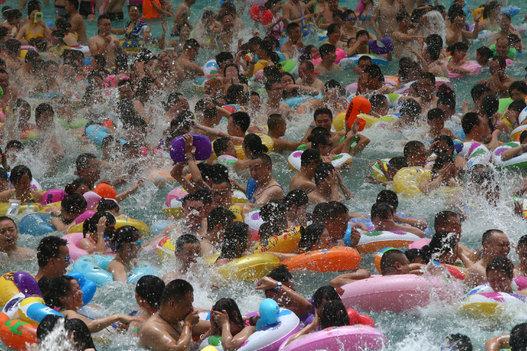 Voici le parc aquatique le plus fréquenté du monde, en Chine 458