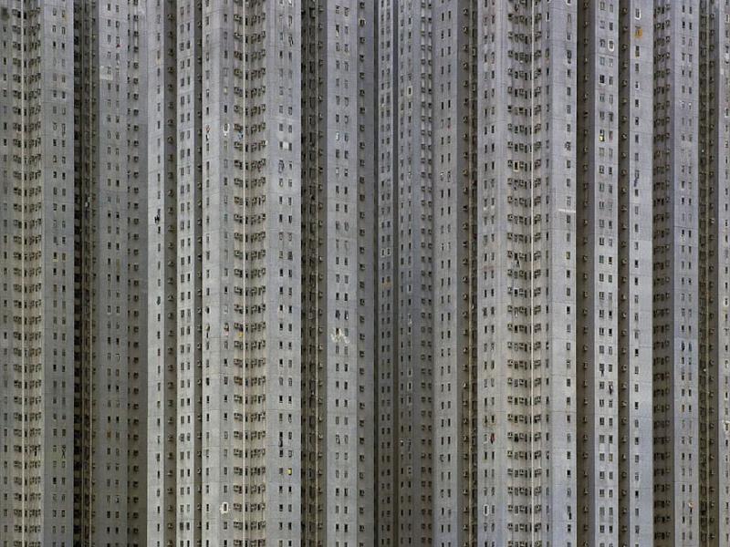 Il photographie la densité architecturale de Hong Kong, un p 544