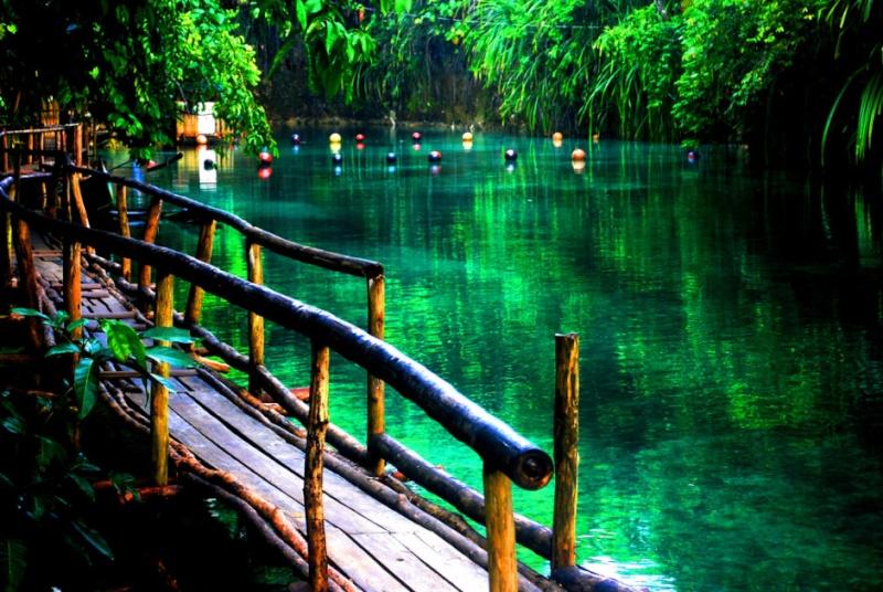 The Hinatuan River, une rivière enchantée aux Philippines 57718310