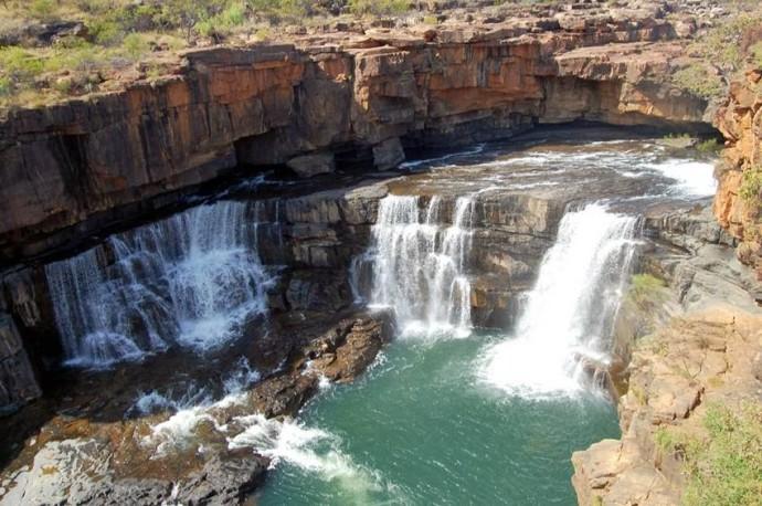 Les cascades Mitchell Falls 610