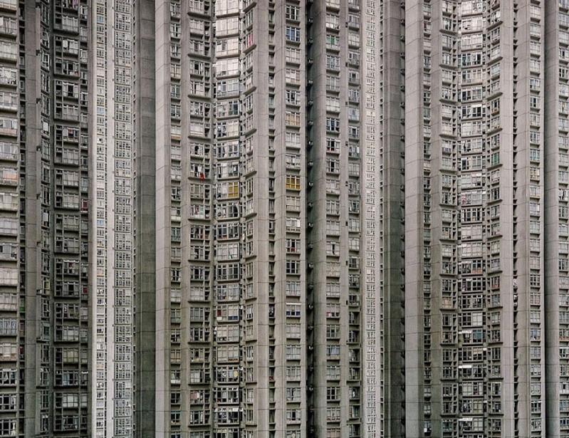 Il photographie la densité architecturale de Hong Kong, un p 634