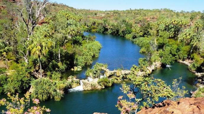 Les cascades Mitchell Falls 710