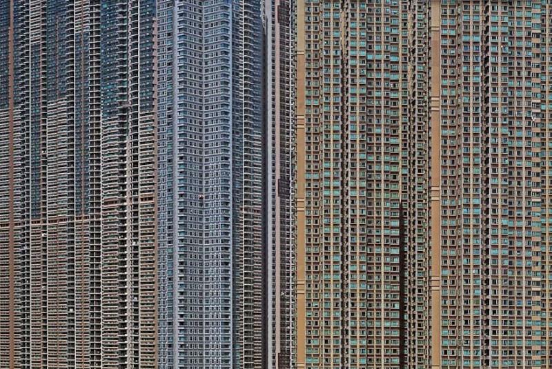 Il photographie la densité architecturale de Hong Kong, un p 726