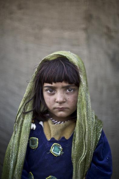 Des Portraits Saisissants d'Enfants Réfugiés Afghans 820