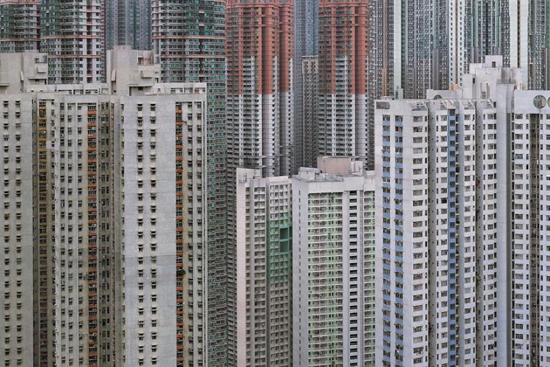 Il photographie la densité architecturale de Hong Kong, un p 835