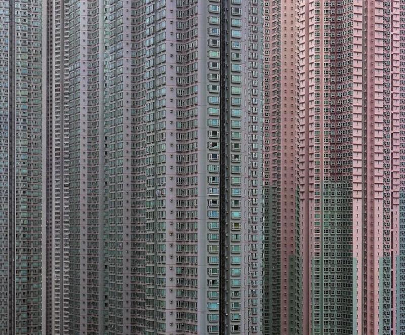 Il photographie la densité architecturale de Hong Kong, un p 916