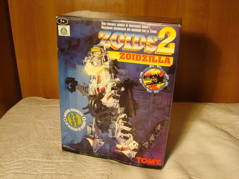 robot zoids 2 zoidzilla nuovo mai assemblato Dsc09710