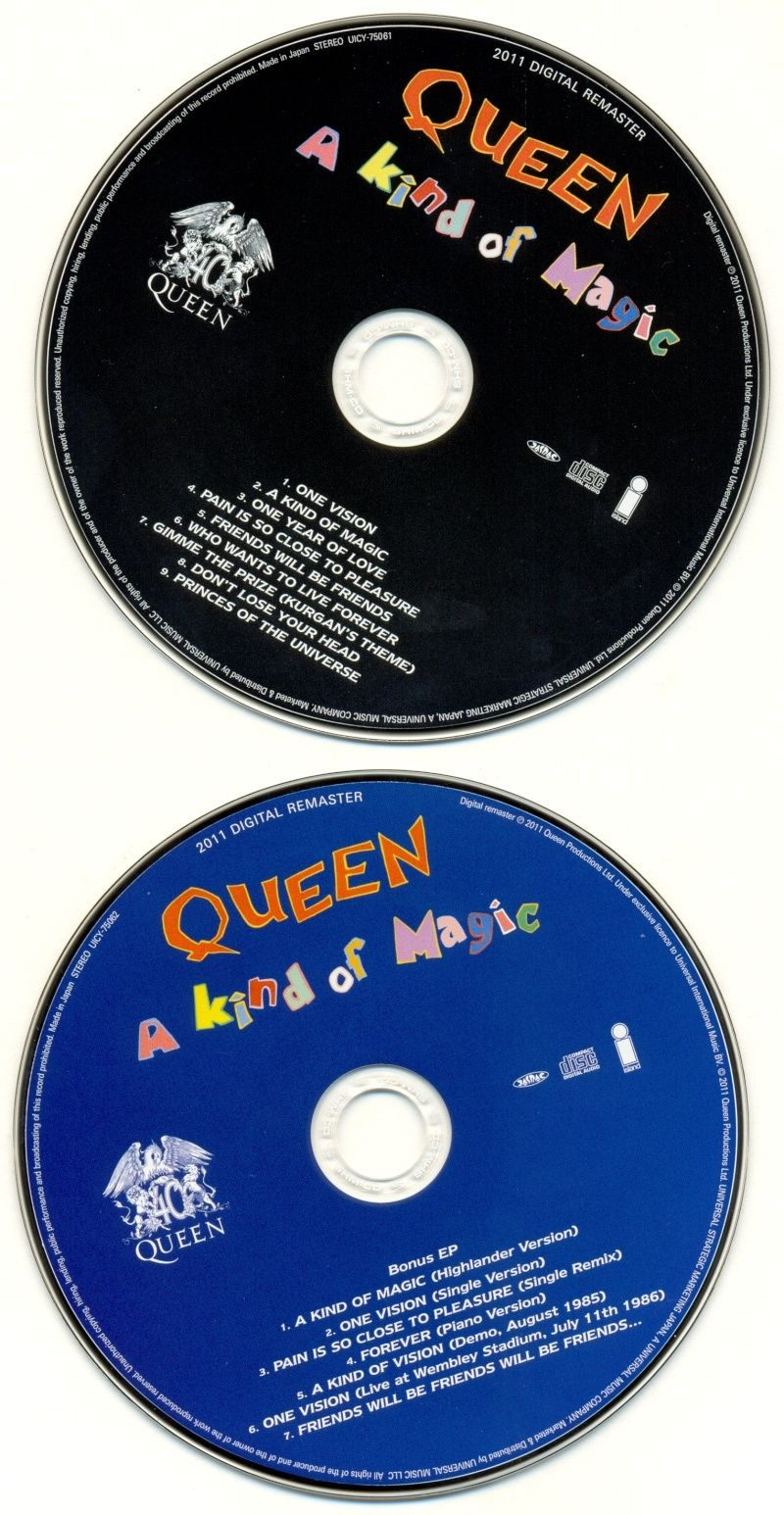 Queen - A Kind Of Magic (1986) [Japan] A_kind11