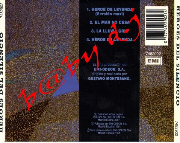 Heroes del Silencio-Heroe de Leyenda (1987) FLAC [EXCLUSIVA] - Página 2 Format11