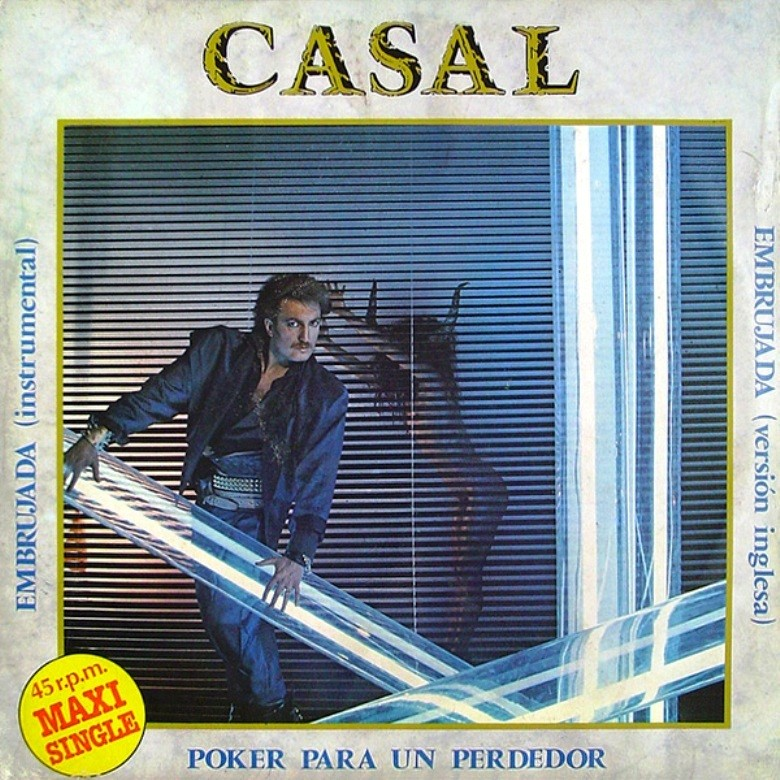 TINO CASAL - Poker Para Un Perdedor & Embrujada (Maxi 12'') (1983) Fronta32