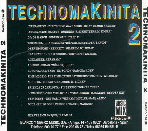 Technomakinita Vol.2 Techno13