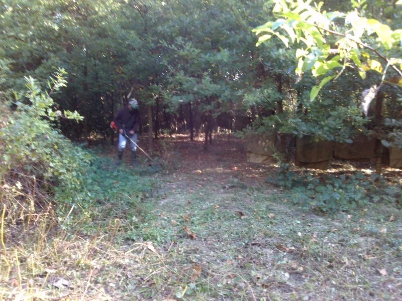 Terrain d'exercice d'activités en pleine Nature Cam00217