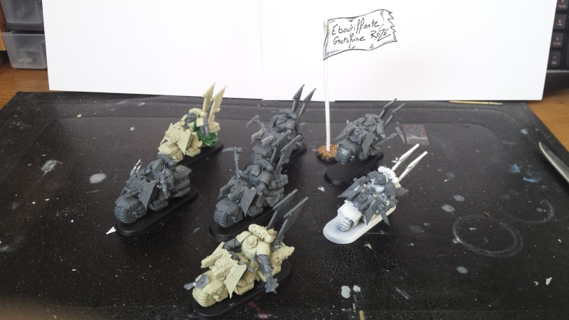 [wedge/ dark angels ] escadron spectre de la Ravenwing  20141111