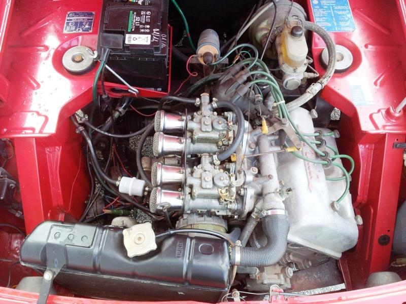[VENDO - Treviso] Fulvia Coupè 1.3S del 1976 - VENDUTA Motore10