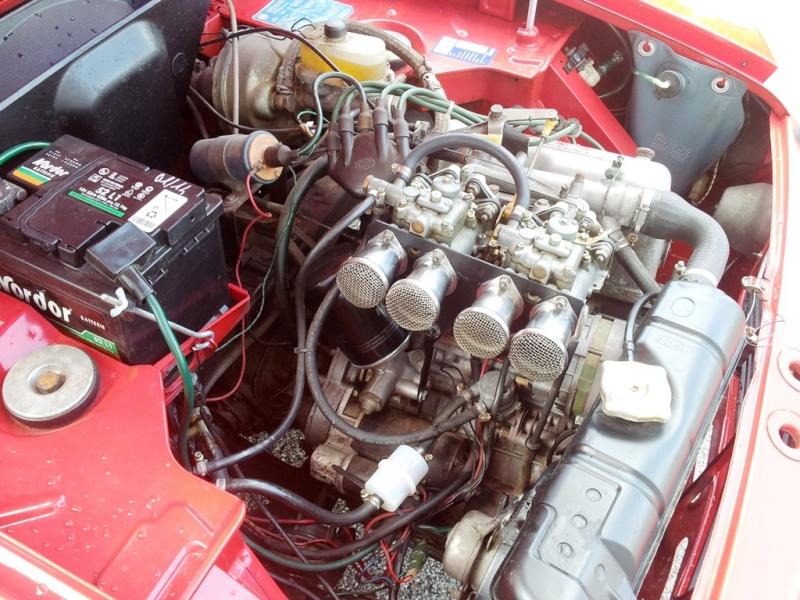 [VENDO - Treviso] Fulvia Coupè 1.3S del 1976 - VENDUTA Motore12