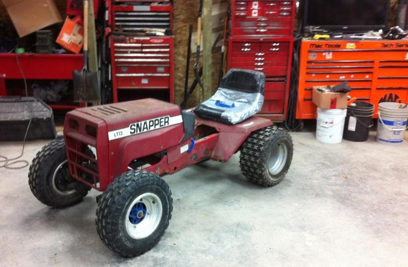 StarPuss's Snapper LT12 Tractor Build  (YouTube Videos ) 13510