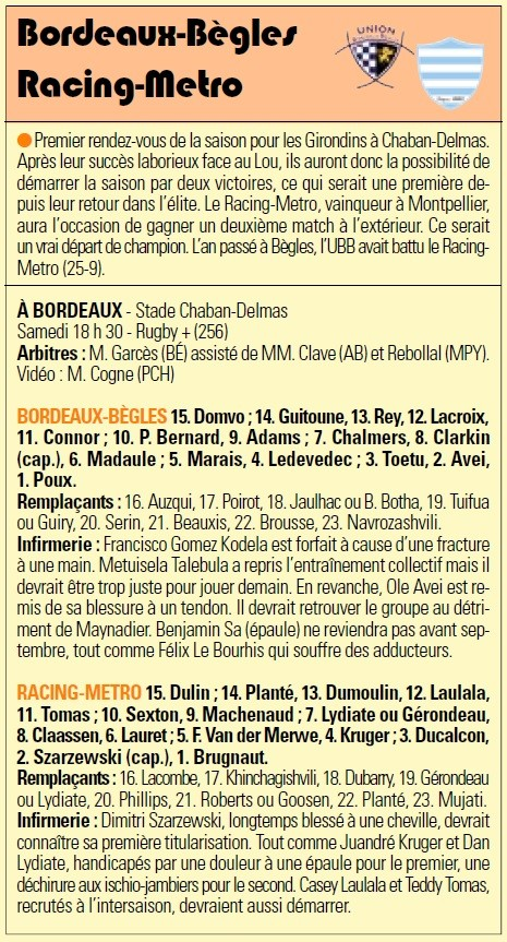 TOP 14 - 2ème journée : UBB / Metro Racing - Page 2 Sans_t49