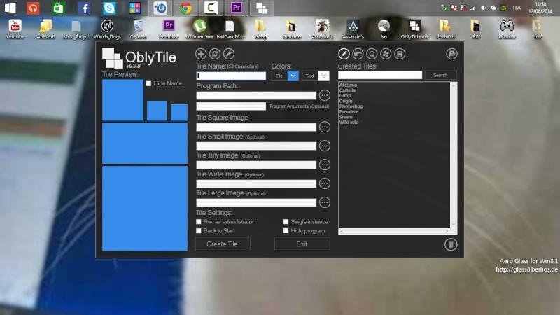 Creare collegamenti nella metro Windows 8 - OblyTitle Cattur10