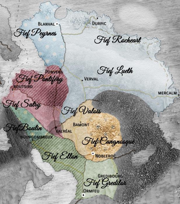 Sirdi - Le pays de l'Equilibre Carte-12