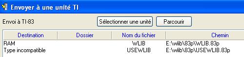 TI-Connect sous Linux VirtualBox Ti110