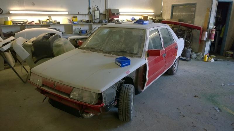 1987 Renault 9 Turbo phase 2 restoration Wp_20115