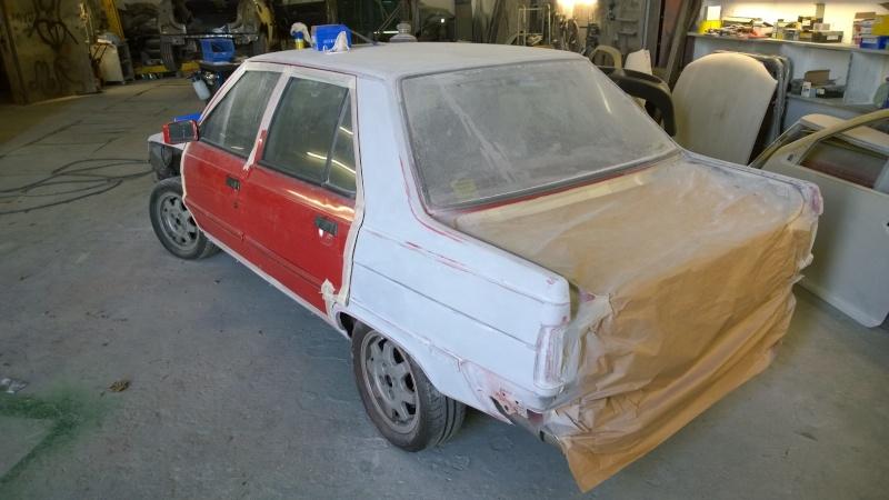 1987 Renault 9 Turbo phase 2 restoration Wp_20116