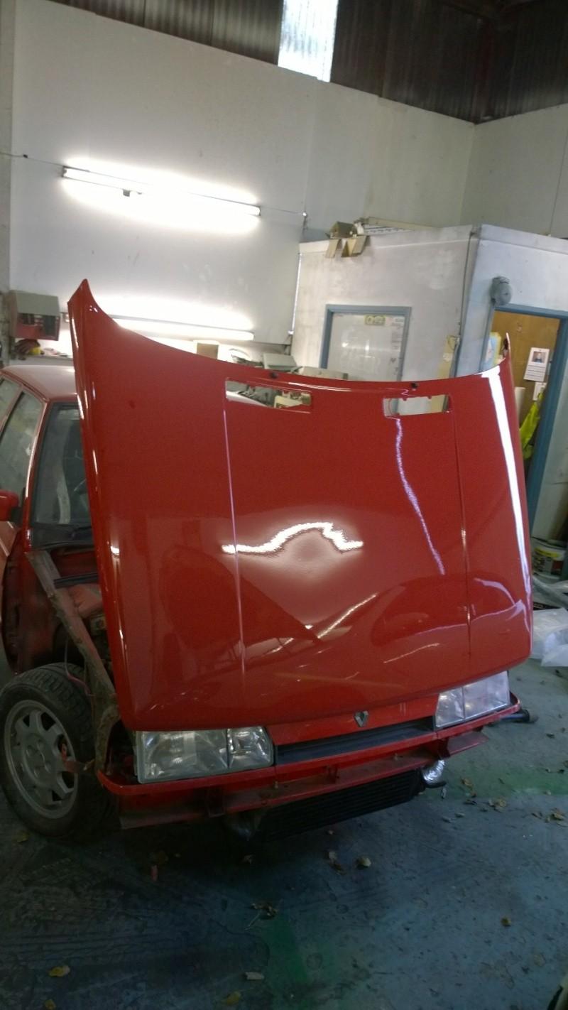 1987 Renault 9 Turbo phase 2 restoration Wp_20119