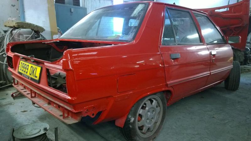 1987 Renault 9 Turbo phase 2 restoration Wp_20121