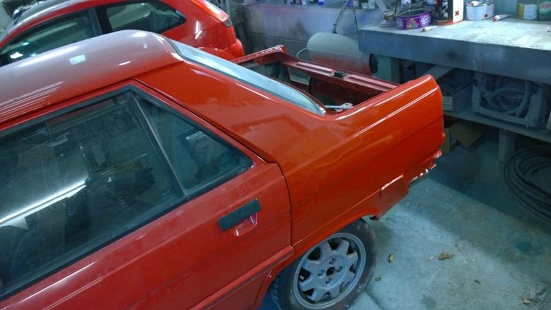1987 Renault 9 Turbo phase 2 restoration Wp_20122