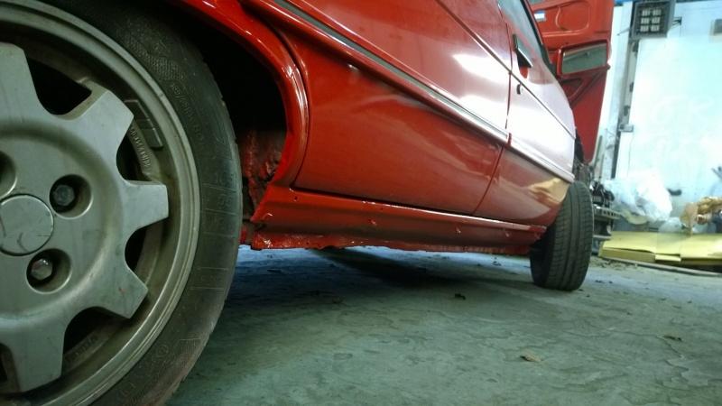 1987 Renault 9 Turbo phase 2 restoration Wp_20123
