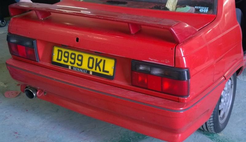 1987 Renault 9 Turbo phase 2 restoration Wp_20124