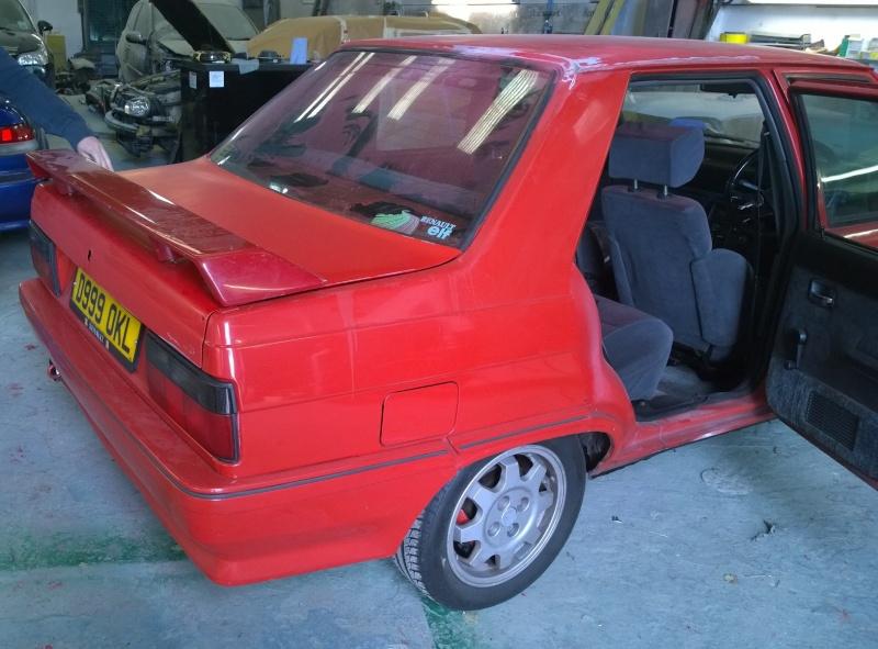 1987 Renault 9 Turbo phase 2 restoration Wp_20125