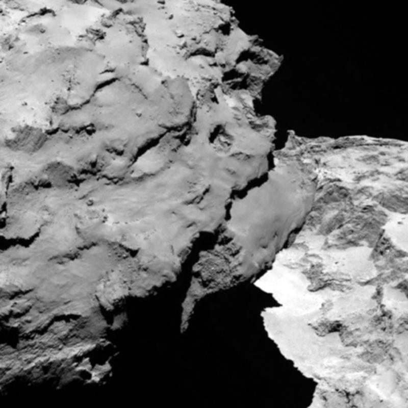 Rosetta : Mission autour de la comète 67P/Churyumov-Gerasimenko  Comet_10