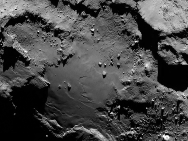 Rosetta : Mission autour de la comète 67P/Churyumov-Gerasimenko  Comet_11