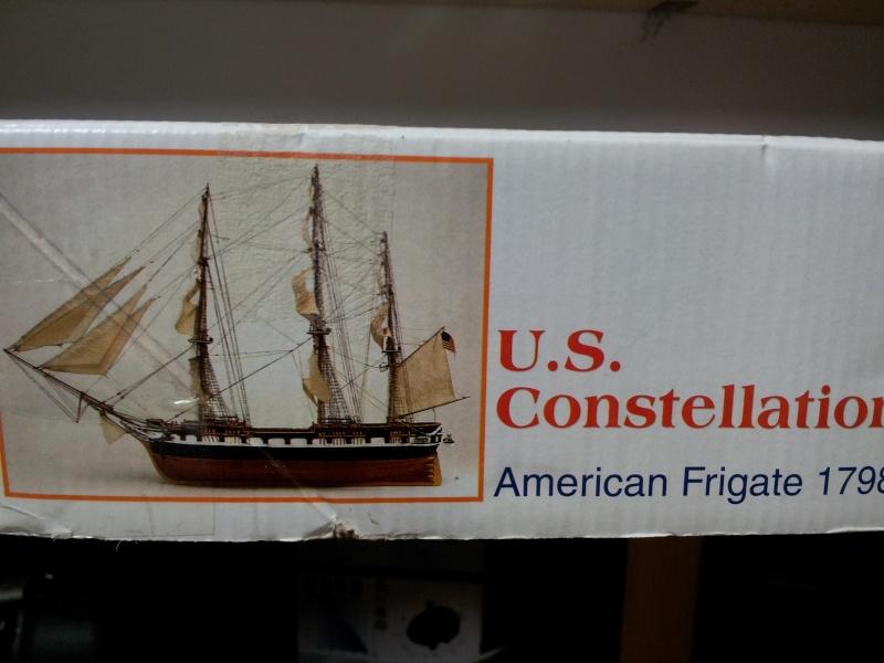 USS CONSTELLATION von Artesania Latina 20141023