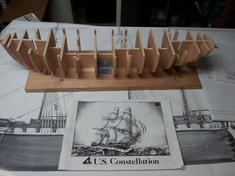USS CONSTELLATION von Artesania Latina 20141027