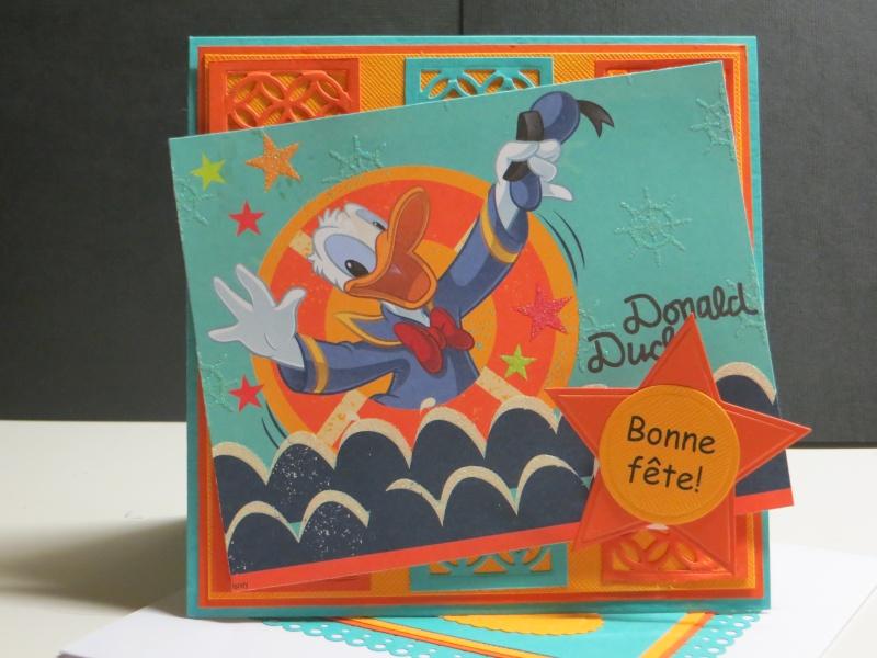 Juin 2014 - Défi ADS #42 -  Donald Duck par Michèle à la carte Img_5610