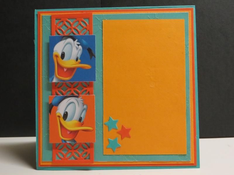 Juin 2014 - Défi ADS #42 -  Donald Duck par Michèle à la carte Img_5611