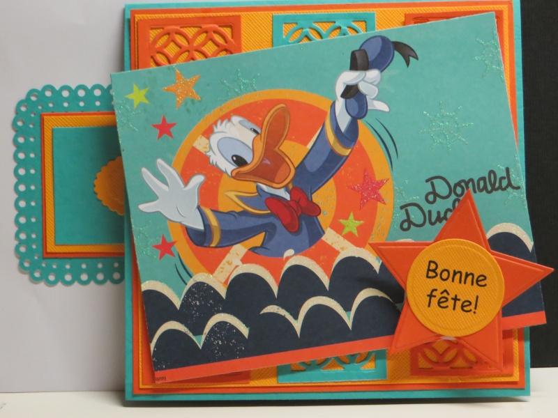 Juin 2014 - Défi ADS #42 -  Donald Duck par Michèle à la carte Img_5612
